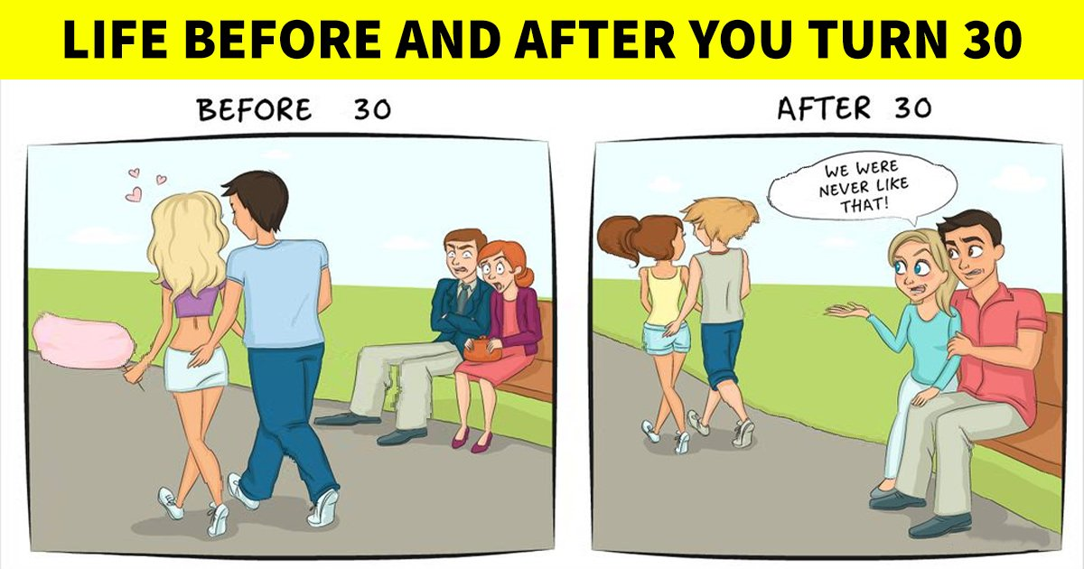 q2 64.jpg?resize=1200,630 - Reality Check | Here's What Life Really Looks Like BEFORE & AFTER You Turn 30!