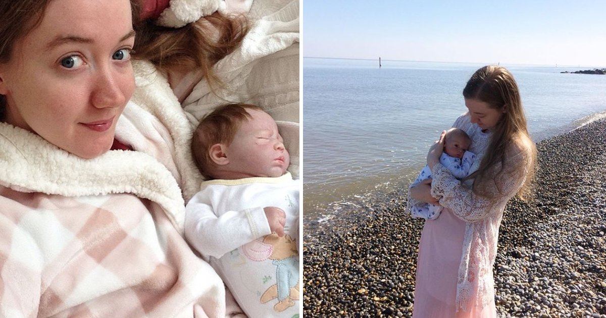 q3 55 1.jpg?resize=412,232 - Women Playing With Life-Like Silicone Baby Dolls Is Trending & People Can't Handle It