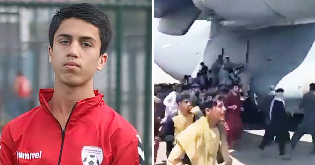 q3 71.jpg?resize=1200,630 - Tragedy As Youth Soccer Player Dies After FALLING From US Evacuation Plane