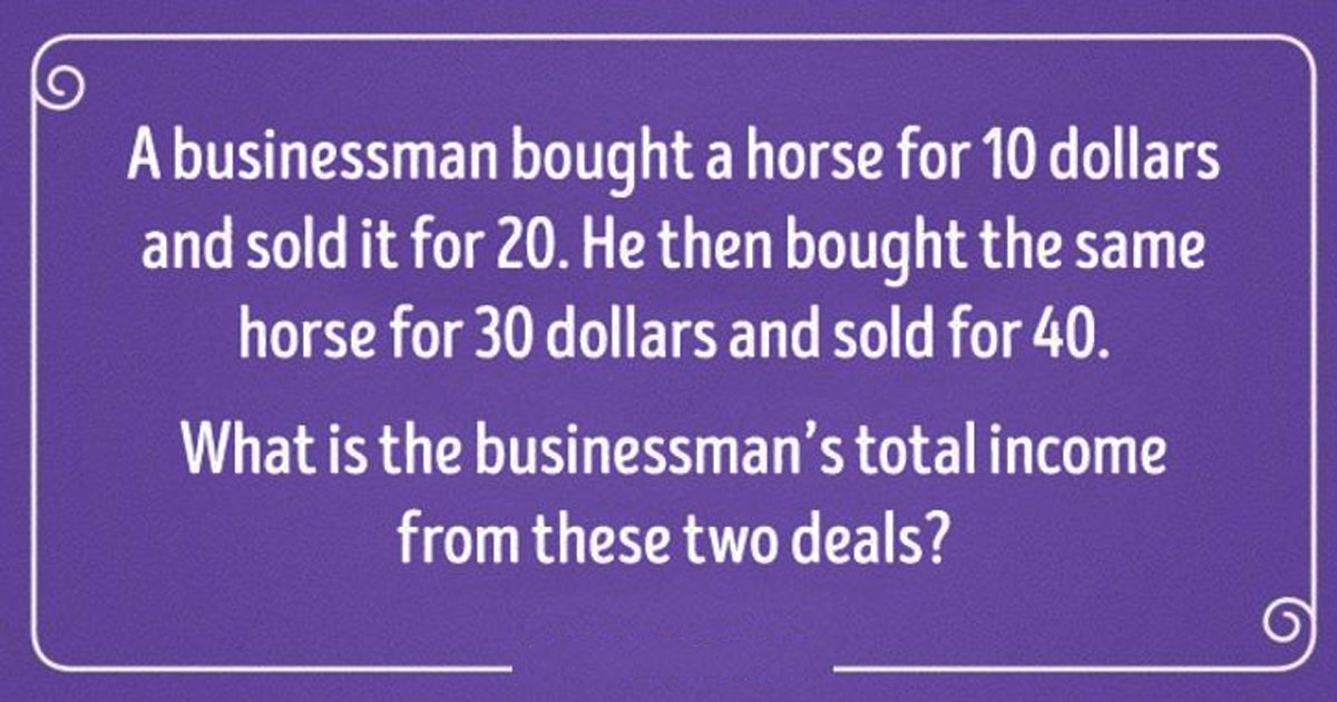 q4 54.jpg?resize=412,232 - This Puzzle Is Designed To Test Your Logical Reasoning! How Far Can You Go?