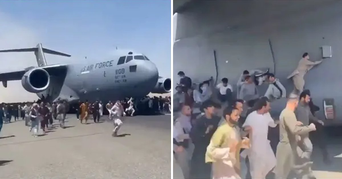 q5 20.jpg?resize=1200,630 - Horror At Kabul Airport As People Fall To Death Mid-Air After Clinging Onto US Plane