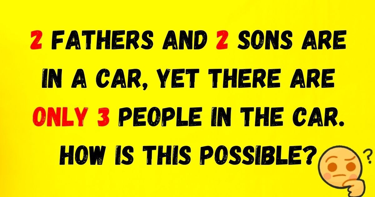 riddles.jpg?resize=412,232 - Brain Test: Only A Few People Can Solve All FIVE Riddles! Can You Do It?
