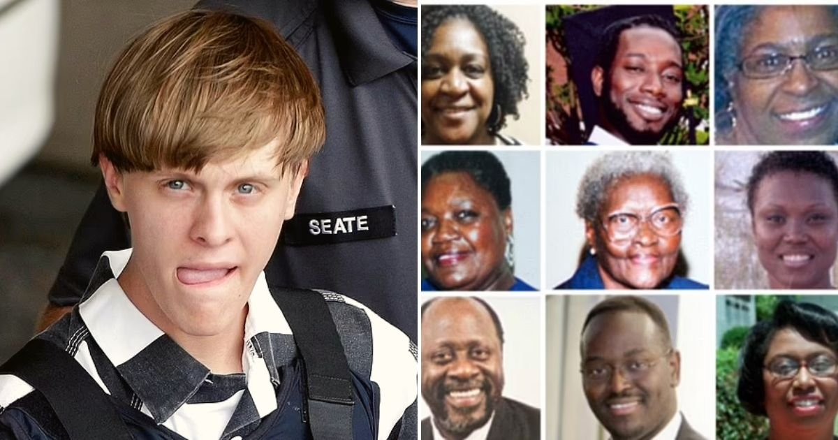 roof5.jpg?resize=1200,630 - Charleston Church Gunman Dylann Roof's Death Penalty Is UPHELD By Appeal Judges After Lawyers Argued He Is Mentally Ill
