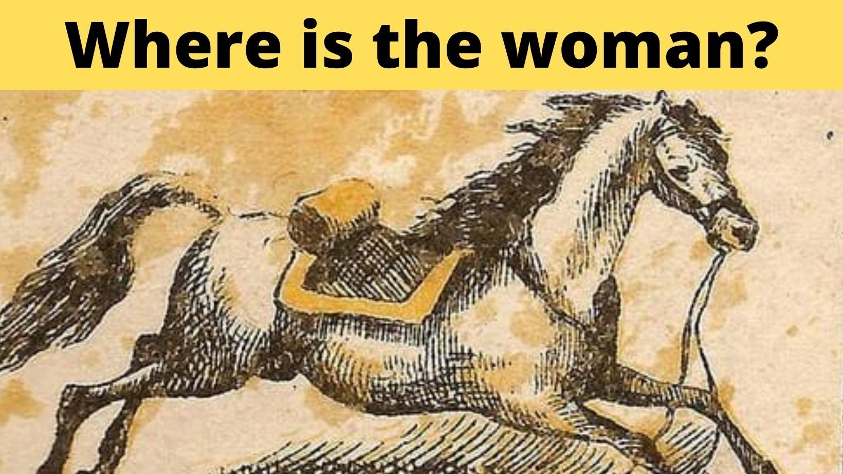 small joys thumbnail 2.jpg?resize=1200,630 - Optical Illusion: The Lady Rider Fell Off The Horse! But Where Is She?!