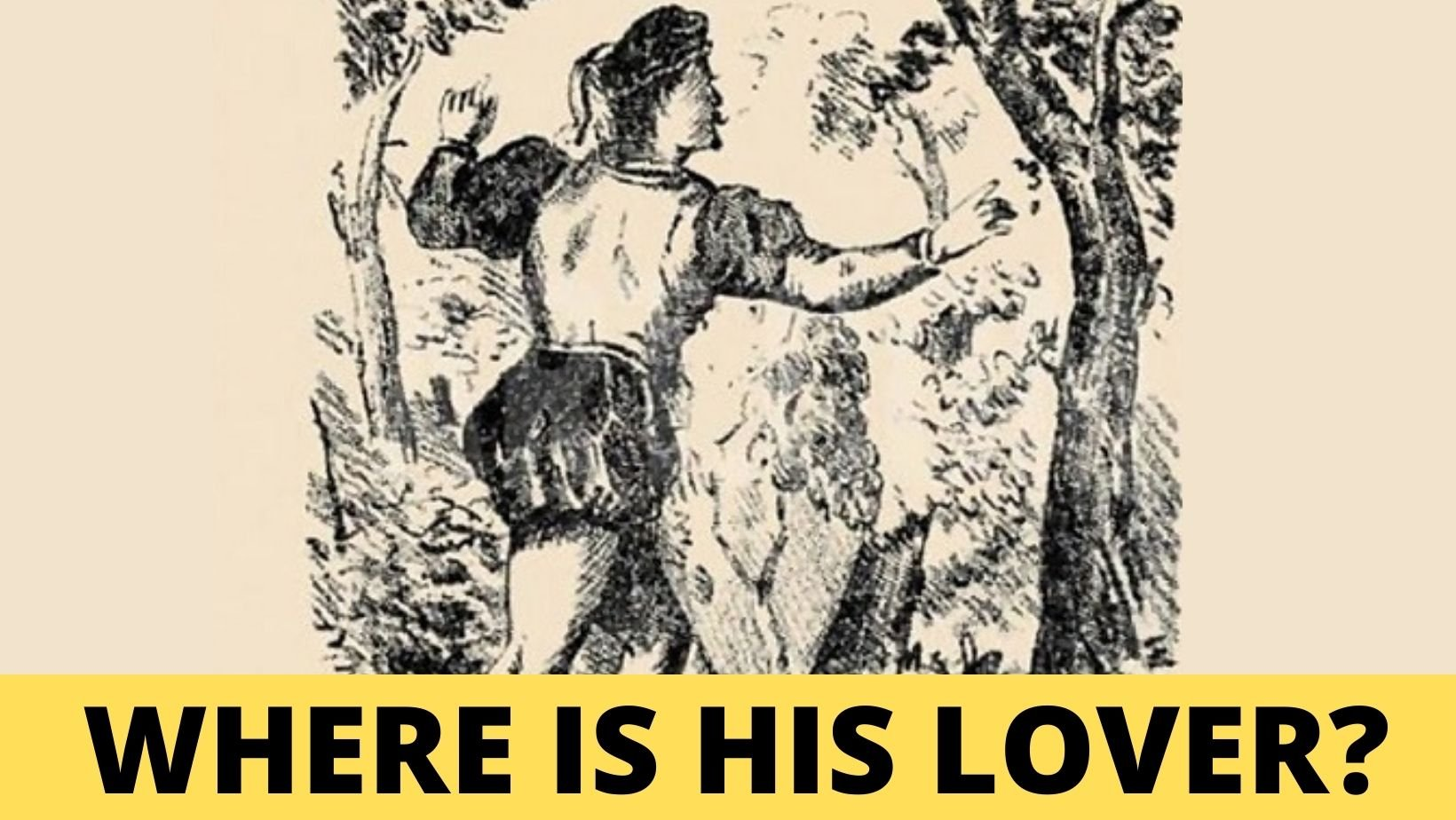 small joys thumbnail.jpg?resize=1200,630 - A Man Is Desperately Looking For His Lover, Can You SEE her?