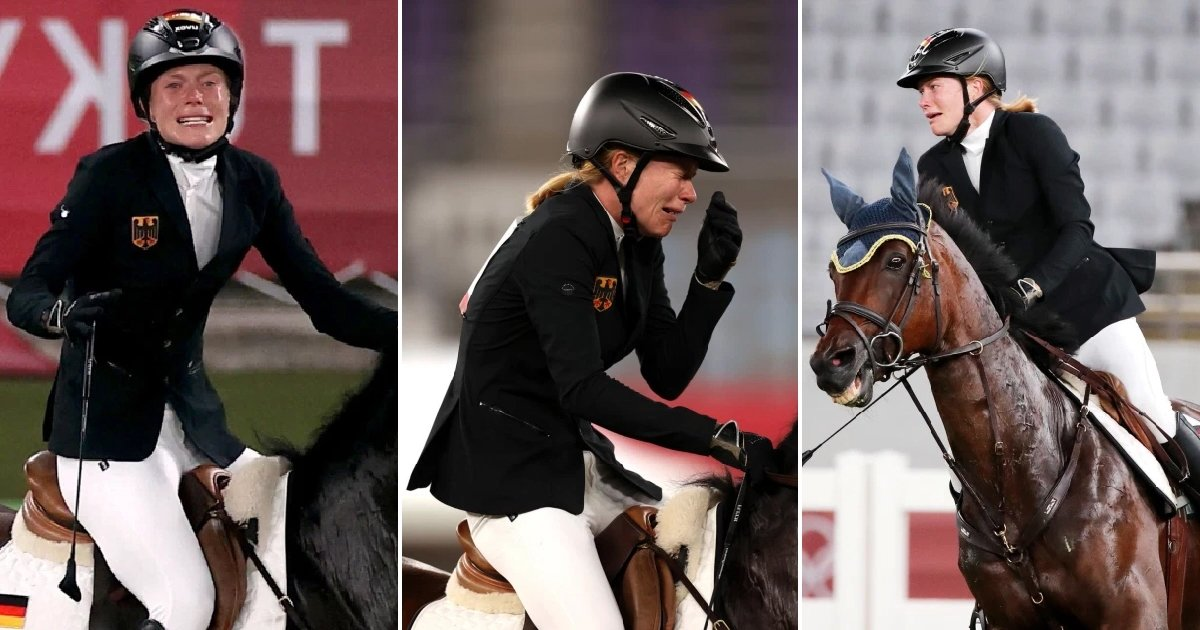 t1 81.jpg?resize=1200,630 - Olympic Gold Medal Favorite Rides Around In TEARS After Horse Refuses To Cooperate
