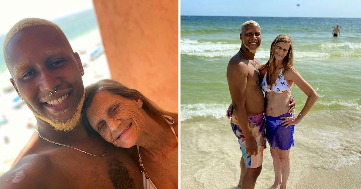 t1 84.jpg?resize=1200,630 - Grandmother Of 17 Gets ENGAGED To Toyboy Lover That's '37 Years' Younger