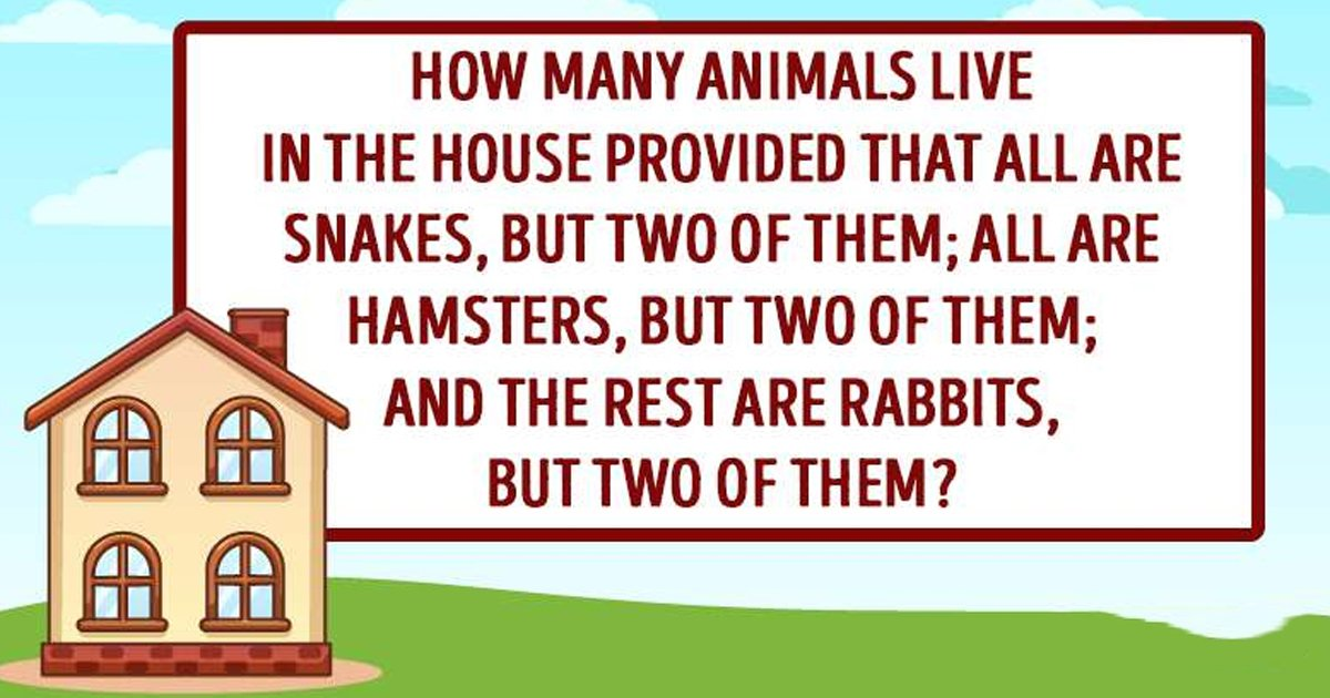 t2 88 1.jpg?resize=412,232 - Can You Correctly Guess How Many Animals Are There From The Clues?