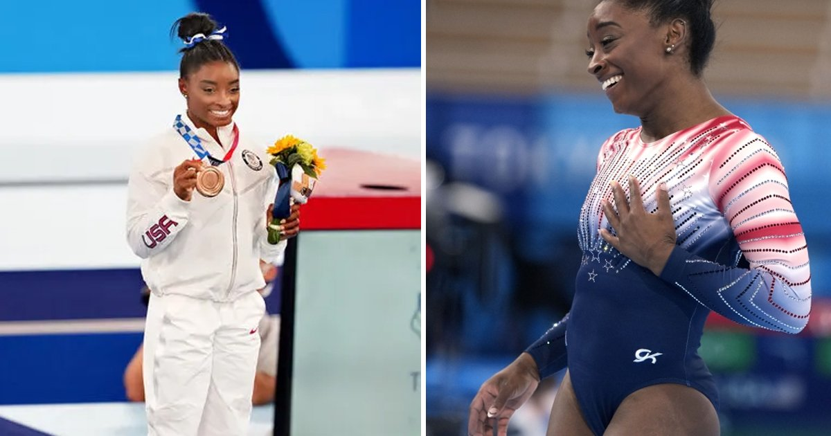 t3 77.jpg?resize=1200,630 - BREAKTHROUGH Return For Simone Biles As Gymnast Finishes Olympics With Bronze Medal