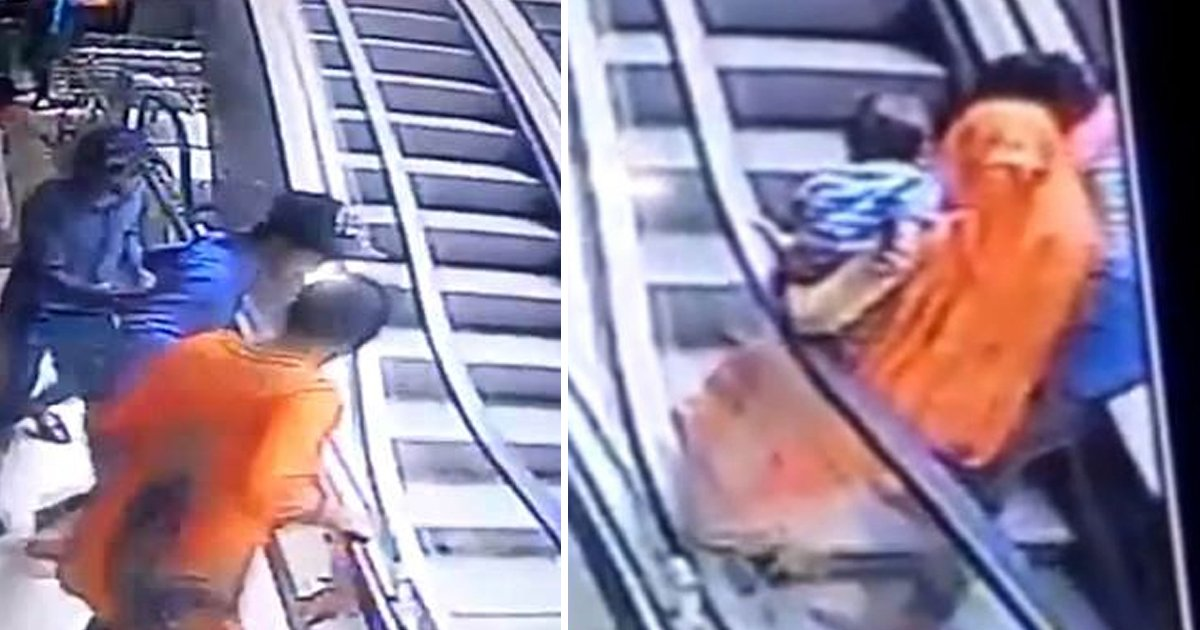 t3 83.jpg?resize=1200,630 - 10-Month-Old Baby Falls To Her Death As Mum Taking Selfies DROPS Her From Escalator
