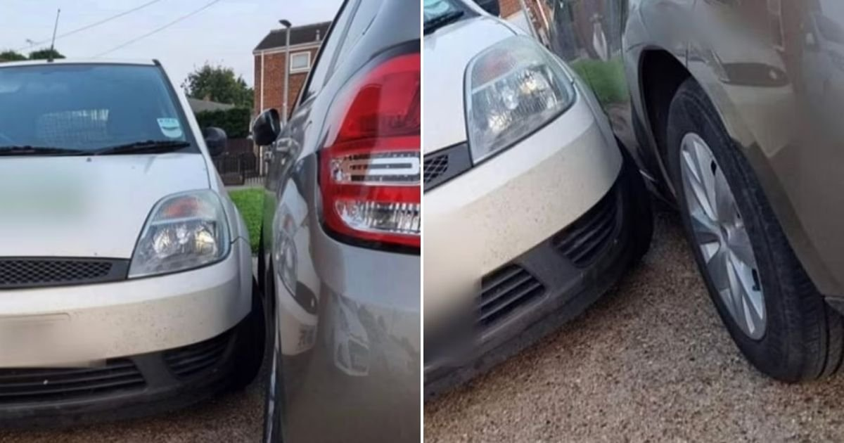 untitled design 22.jpg?resize=412,275 - Mother Intimidated By Her Neighbor Who Keeps Blocking Her Car And Parking Too Close For Comfort