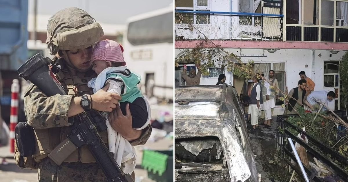 untitled design 38.jpg?resize=1200,630 - Three Children Die In An Airstrike In Kabul After US Officials Target Cars Filled With Explosives