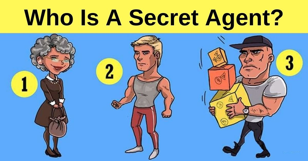 who is a secret agent.jpg?resize=412,232 - One Of These People Is A Secret Agent! Can You Figure Out Who By Taking One Look At The Picture?