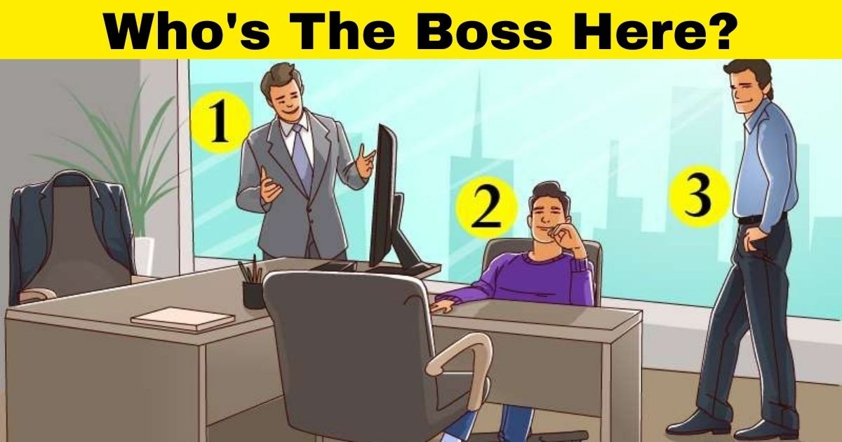 whos the boss here.jpg?resize=412,232 - Who's The Boss? Pass This Logic Test By Finding Out Who Owns The Office!