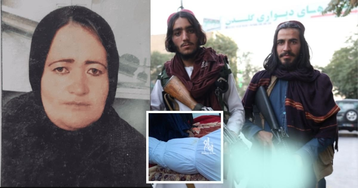 1 12.jpg?resize=1200,630 - Taliban Executed 8-Month Pregnant Policewoman In Front Of Her Husband & Kids