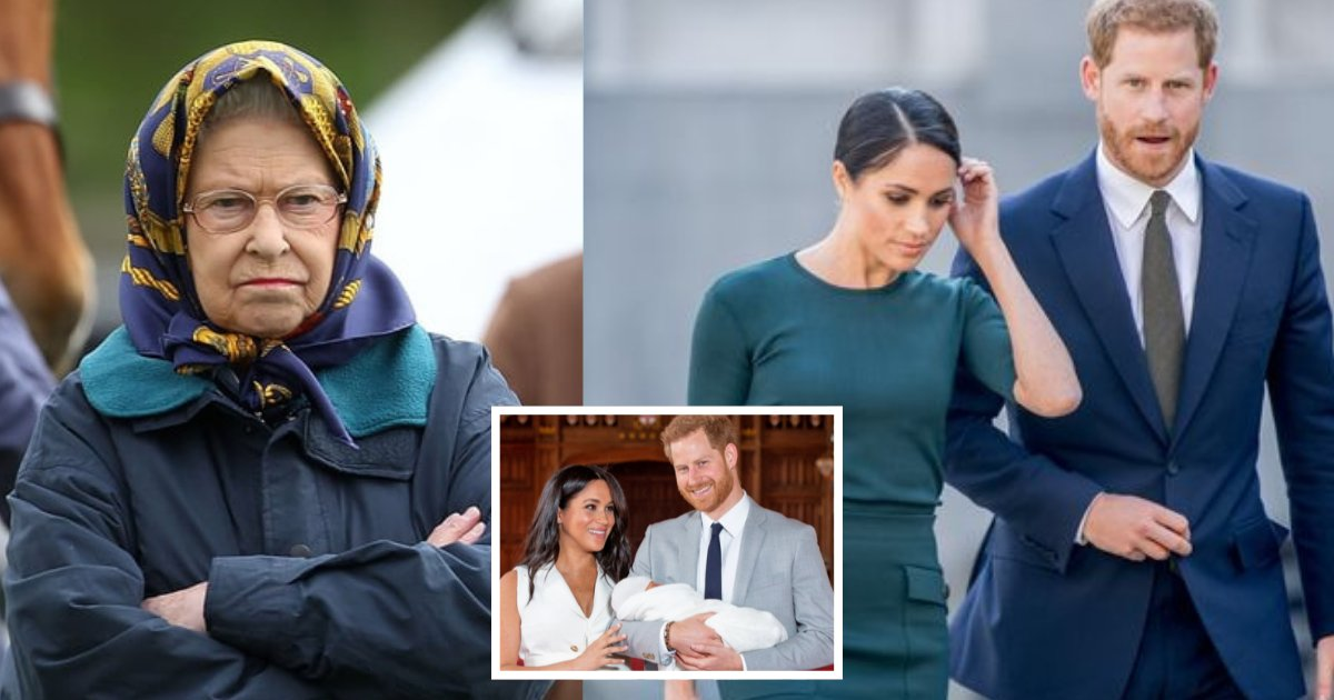 1 2.png?resize=412,275 - Buckingham Palace Ignored Prince Harry And Meghan Markle's Request To Meet The Queen And Introduce Lilibet, Reports Claimed