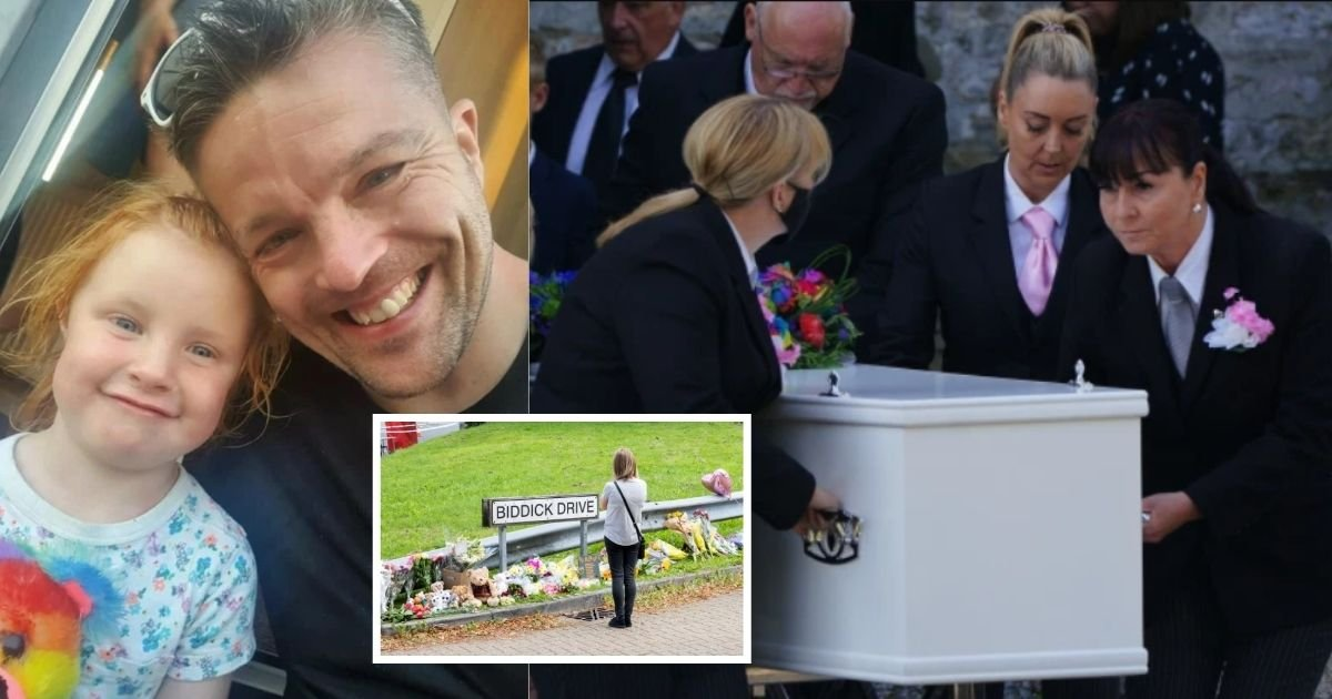 1 20.jpg?resize=1200,630 - Dad And 3-Year-Old Daughter Were Buried Together In Single Coffin After They Have Been Killed During Shooting Rampage In Plymouth Last August