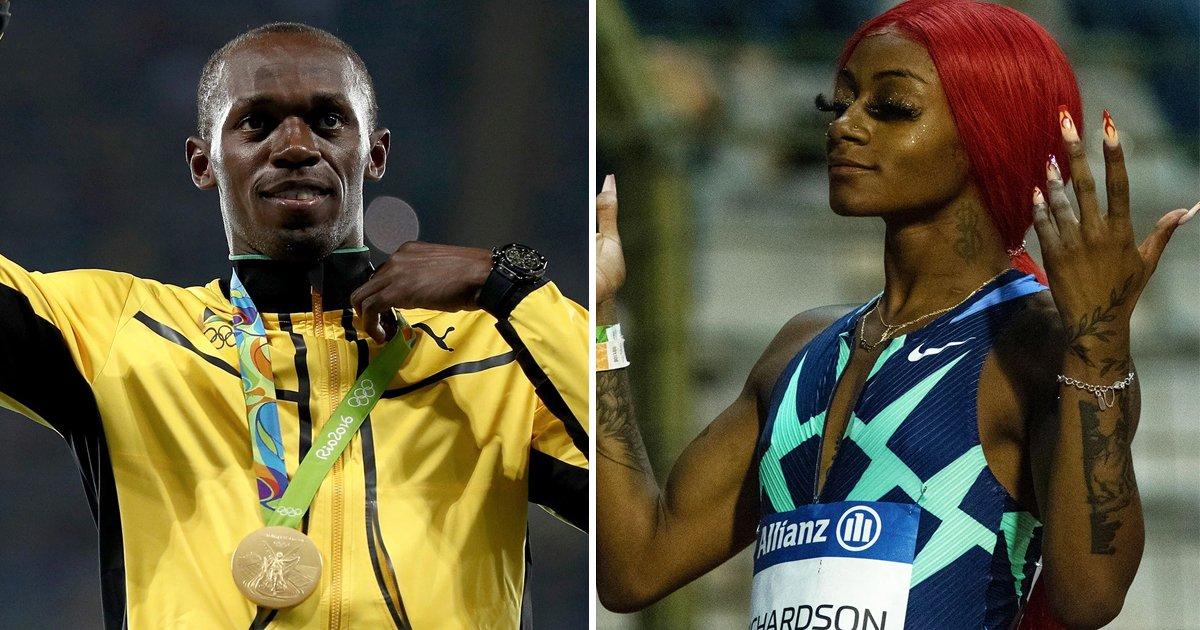 "1 58.jpg?resize=1200,630 - ""Stop Trash-Talking & Focus On Training""- Usain Bolt's Advice To Sprinter Sha'Carri Richardson Causes Uproar"