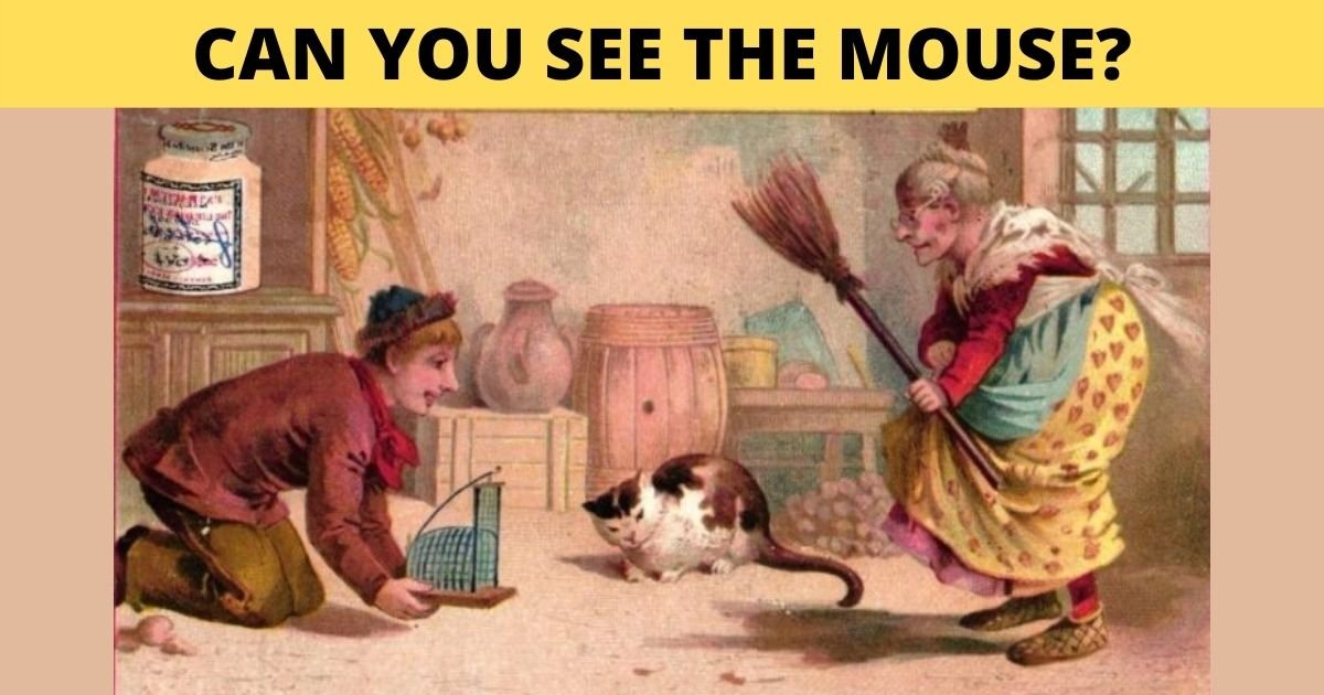1 59.jpg?resize=412,232 - Can You See The Sneaky MOUSE In This Vintage Photo?