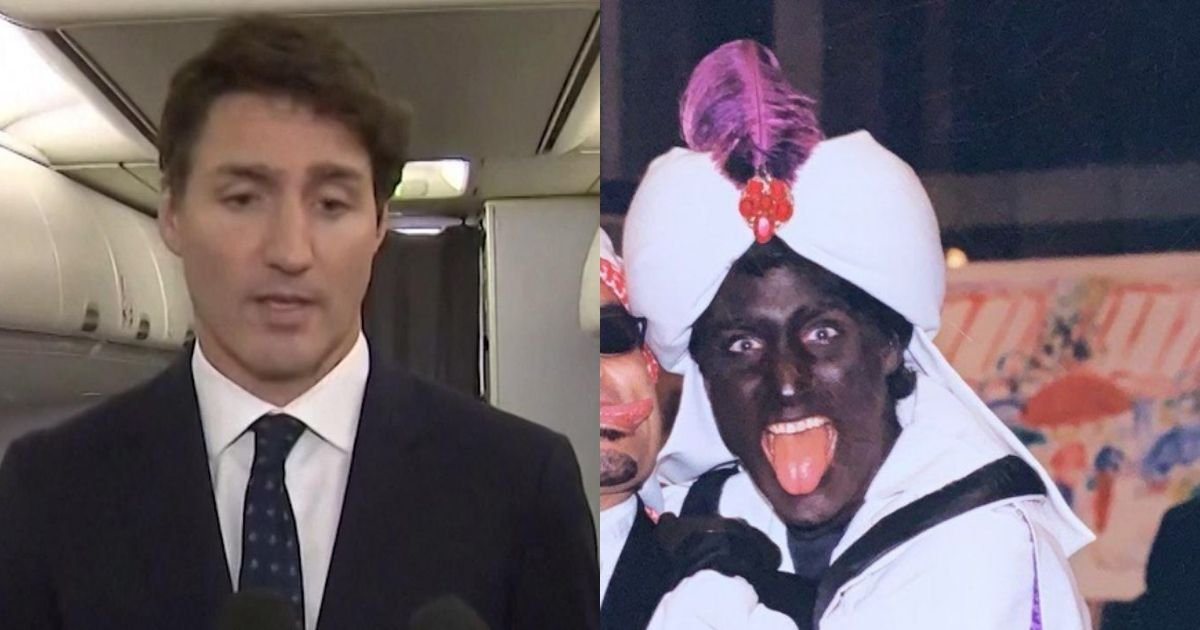 1 65.jpg?resize=412,232 - Canadian Prime Minister Justin Trudeau Accused Of RACISM As His Blackened Face Pictures Emerges Online