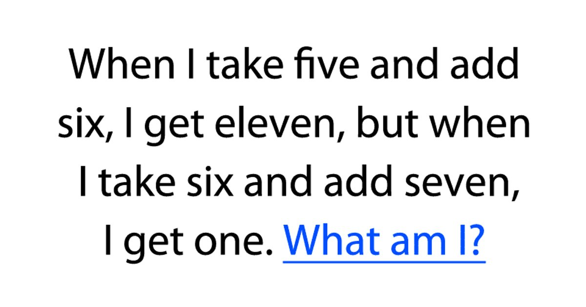 2 1 1.jpg?resize=1200,630 - Here's A Riddle That's Driving People Insane! Can You Solve This?