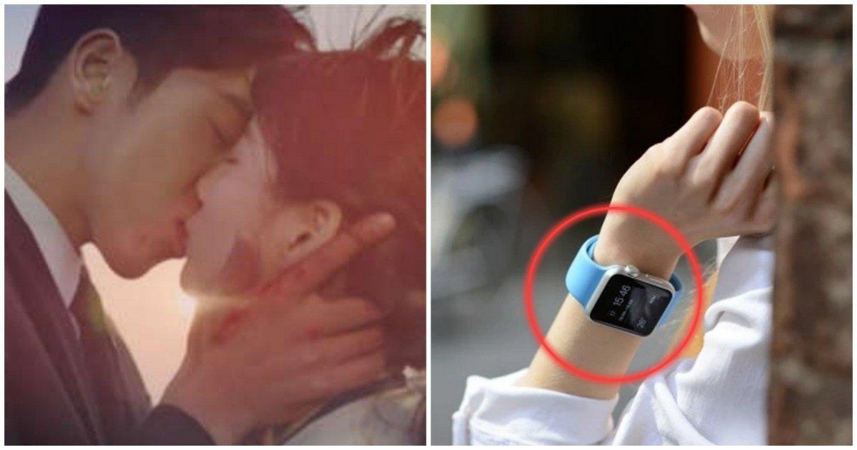 "3 25.jpg?resize=1200,630 - ""가슴 떨리는 첫 키스, '애플워치'가 망쳤습니다""... 처음 키스해 본 여학생의 웃픈 이야기"