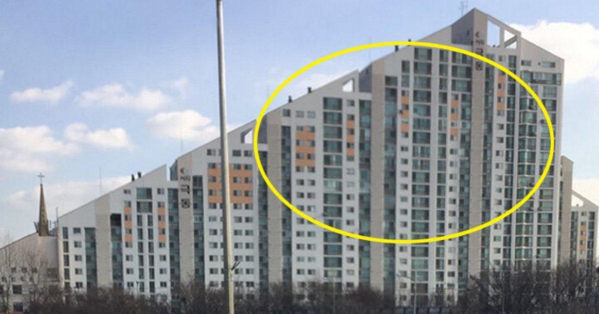 """4 57.jpg?resize=412,232 - """"천호대교 지나갈 때 보이는 그 아파트""""... 씨티 극동 아파트가 특이하게 지어진 '놀라운' 이유"""