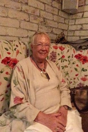 Lilian Briggs fell onto a tiled floor in her kitchen and suffered a double-fractured hip