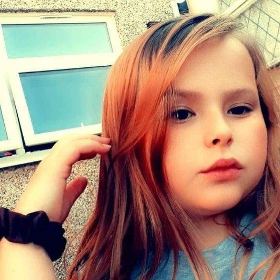 Connie Gent, 11, was at a sleepover the night before she was found dead alongside friend Lacey, John and Terri Harris