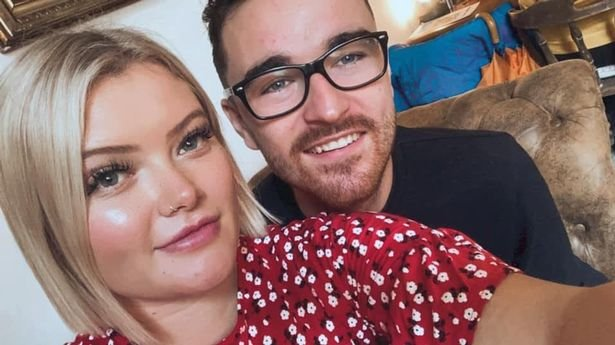 Megan Taylor, 25, with boyfriend Stuart, 27