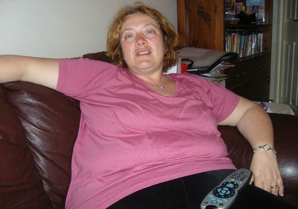Maria gained weight following her divorce, reaching 23st at her heaviest