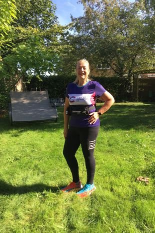 She is now a keen sportsman who enjoys running and has competed in a number of challenges and races