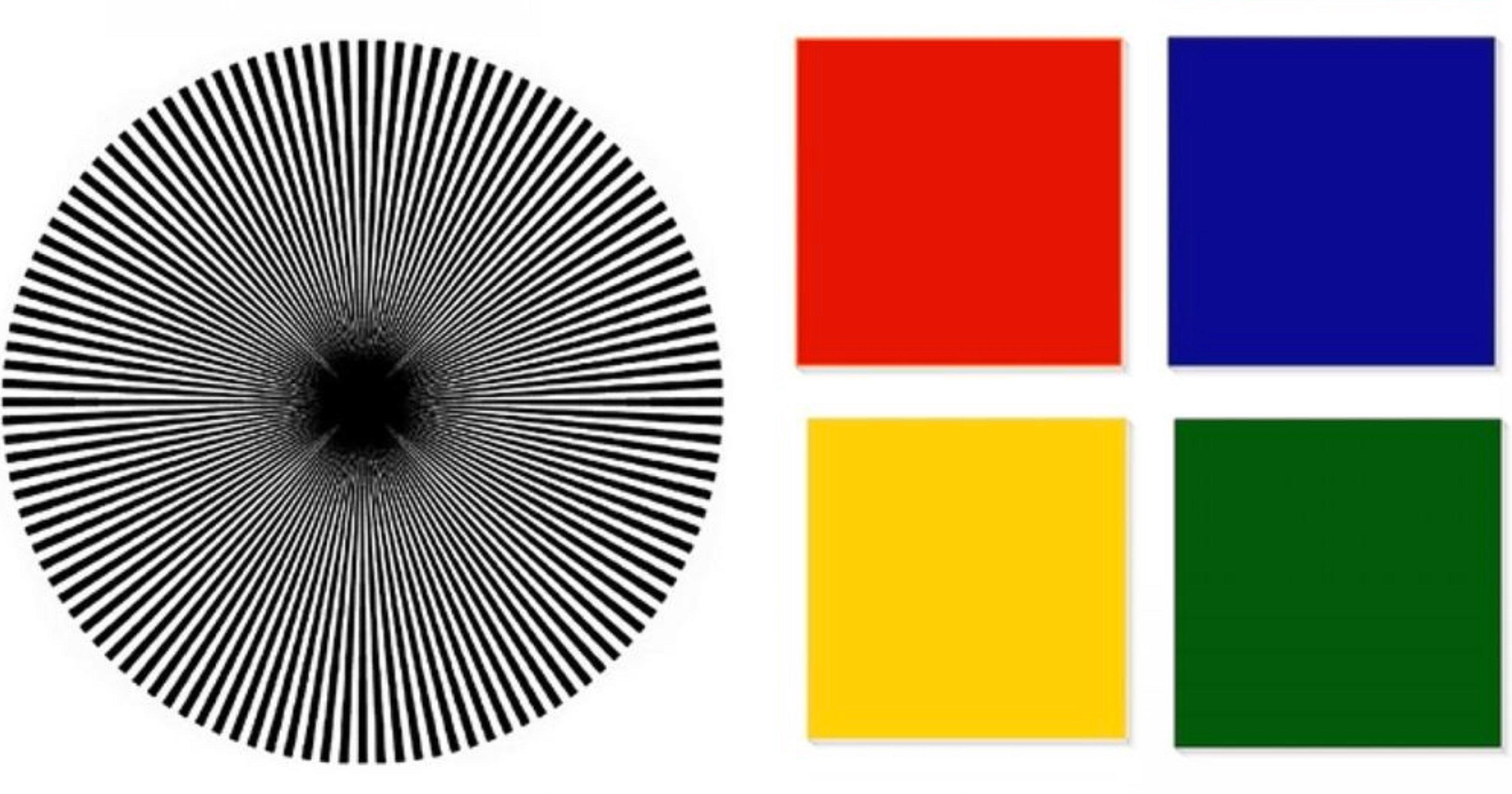 """a07acacc 79ed 4a4e a881 b6a1f01dbdb9.jpeg?resize=1200,630 - """"내 두뇌 유형은?"""" 가운데 있는 원 집중해서 보면 보이는 색깔로 알 수 있는 '두뇌 유형'"""