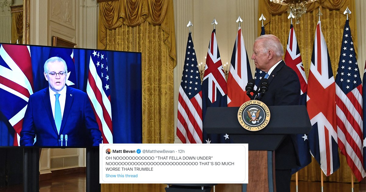 """a1.jpg?resize=412,232 - """"That Fella Down Under""""- Biden Humiliates Himself AGAIN By Forgetting Australian Prime Minister's Name"""