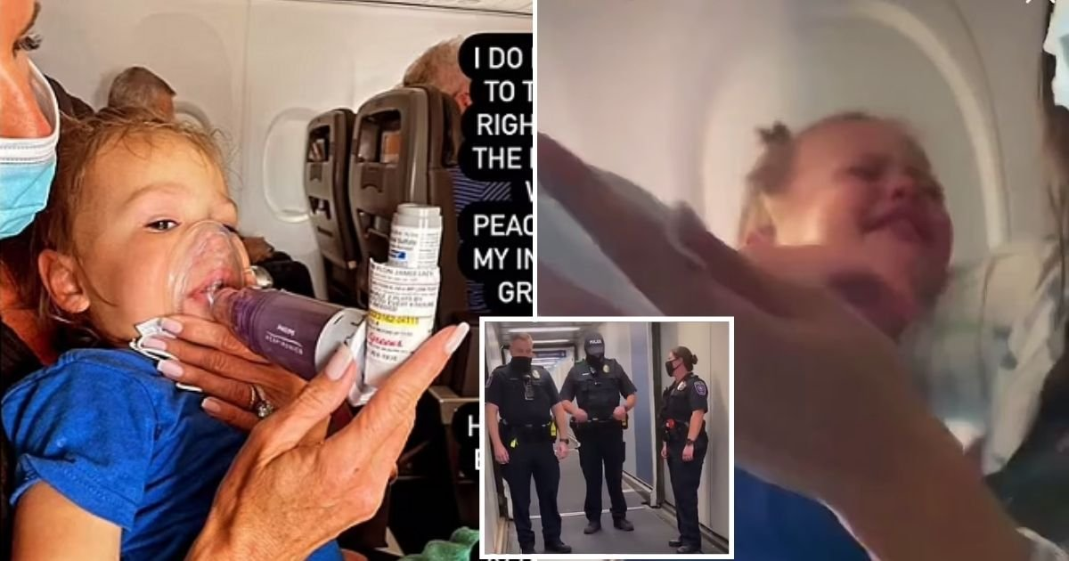 amanda5.jpg?resize=1200,630 - Mother Says They Were Booted Out Of American Airlines Flight Because Toddler Son Was Suffering An Asthma Attack And Couldn't Wear A Mask