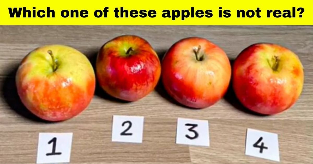 cake17.jpg?resize=1200,630 - Can You Figure Out Which One Of These Apples Is NOT Real?