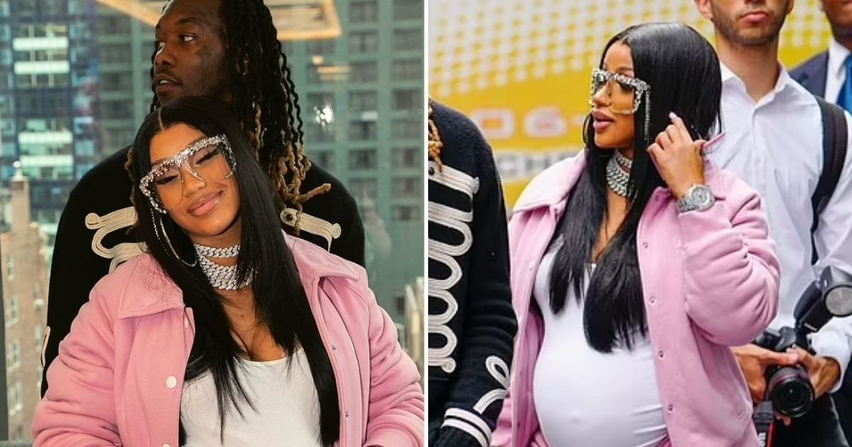 cardi5.jpg?resize=1200,630 - Cardi B Shares First Photo Of Her Second Baby With Rapper Husband Offset
