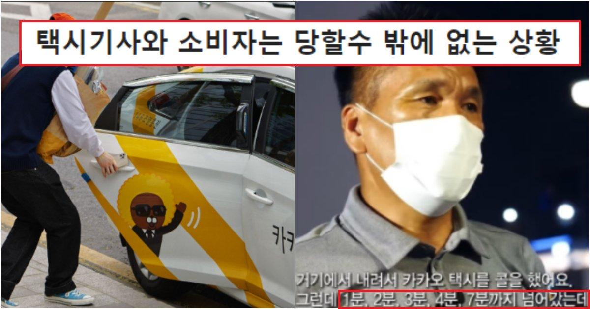 collage 345.png?resize=412,232 - 요즘들어 거의 모든 사람들이 '카카오 택시'를 불매하게 된 충격적인 이유(사진)