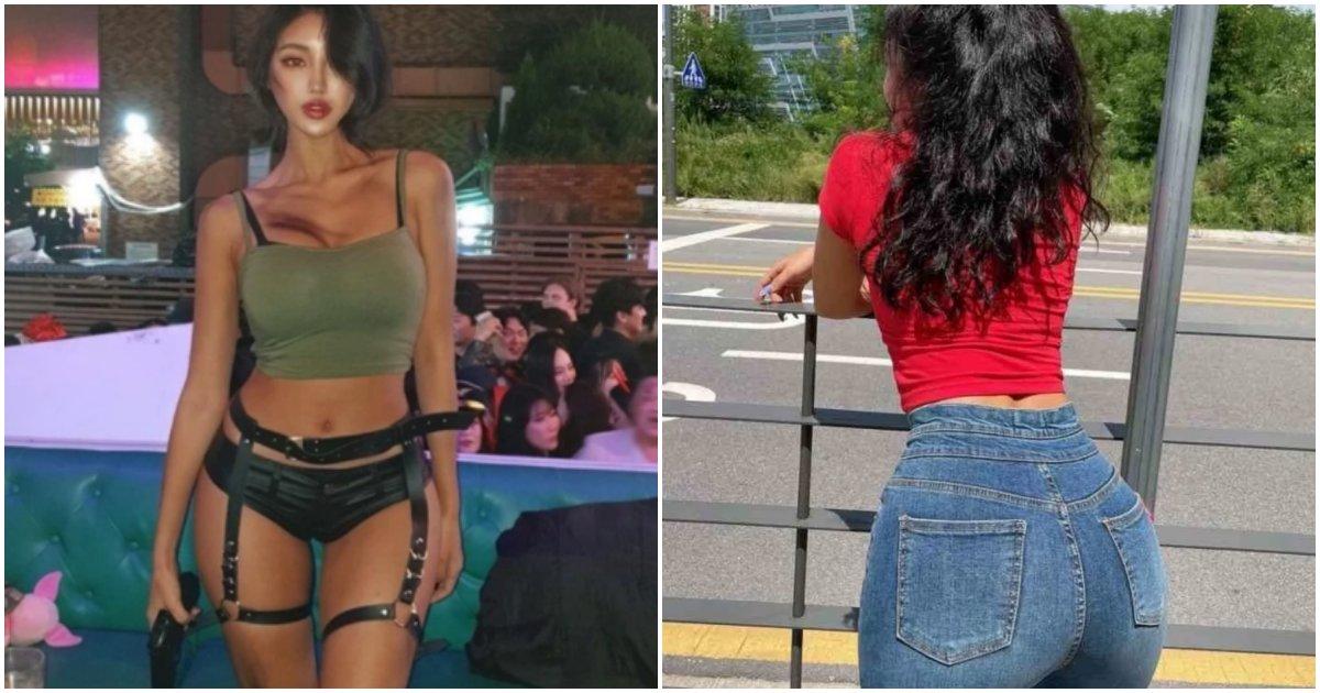 """collage 359.png?resize=1200,630 - """"어릴땐 큰게 너무 컴플렉스였다""""며 골반이 지나칠 정도로 커서 부러움 사고 있는 한국인 모델"""