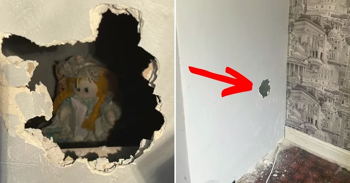 doll5.jpg?resize=1200,630 - New Homeowner Finds A Rag Doll Inside A Wall With A Bone-Chilling Note That Says It Took The Lives Of The Previous Family Who Lived There