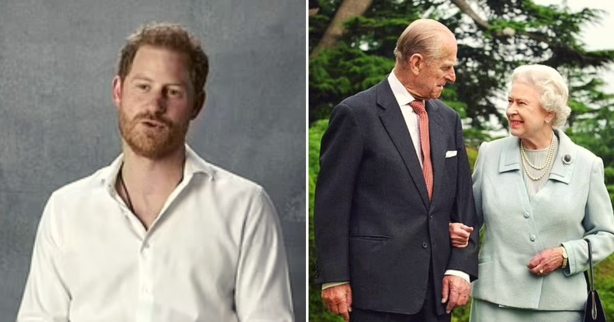 harry2.jpg?resize=1200,630 - Prince Harry Is Slammed When He Paid Tribute To The Queen And Late Prince Philip After Months Of Publicly Criticizing The Firm