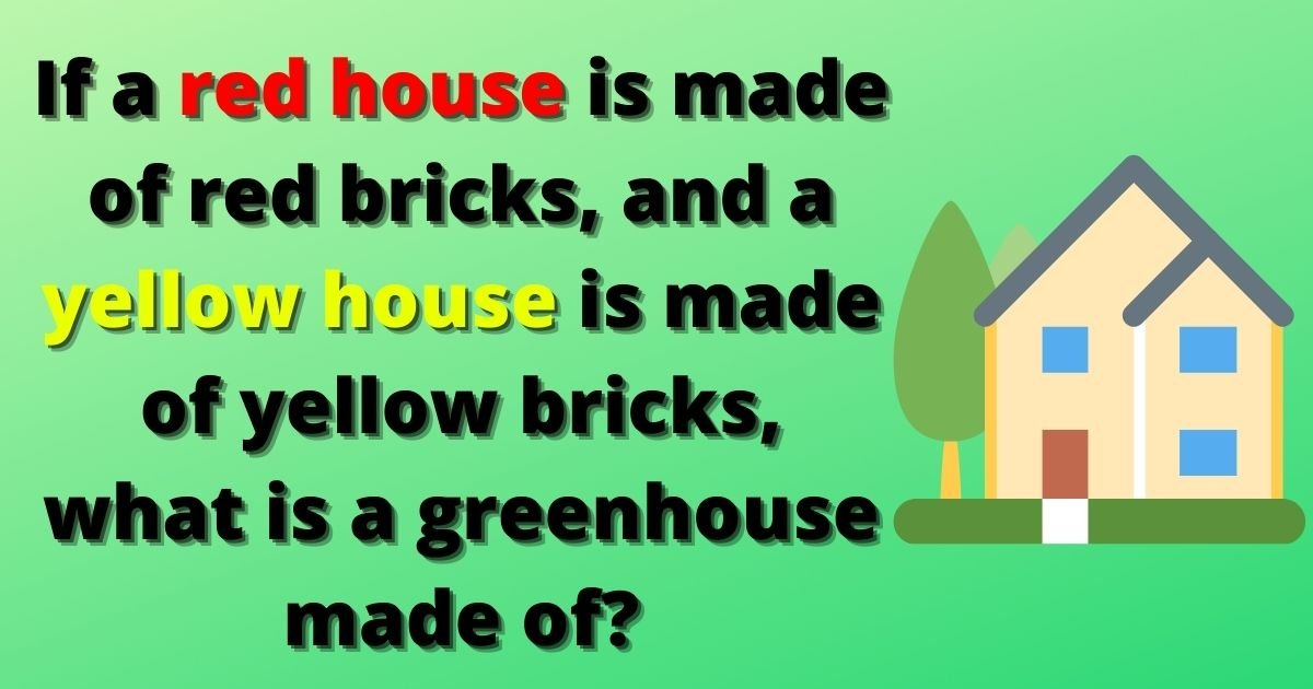 house2.jpg?resize=412,232 - IQ Test: 85% Of People Fail To Solve This Simple Test! But Can You Figure Out The Answer To This Question?