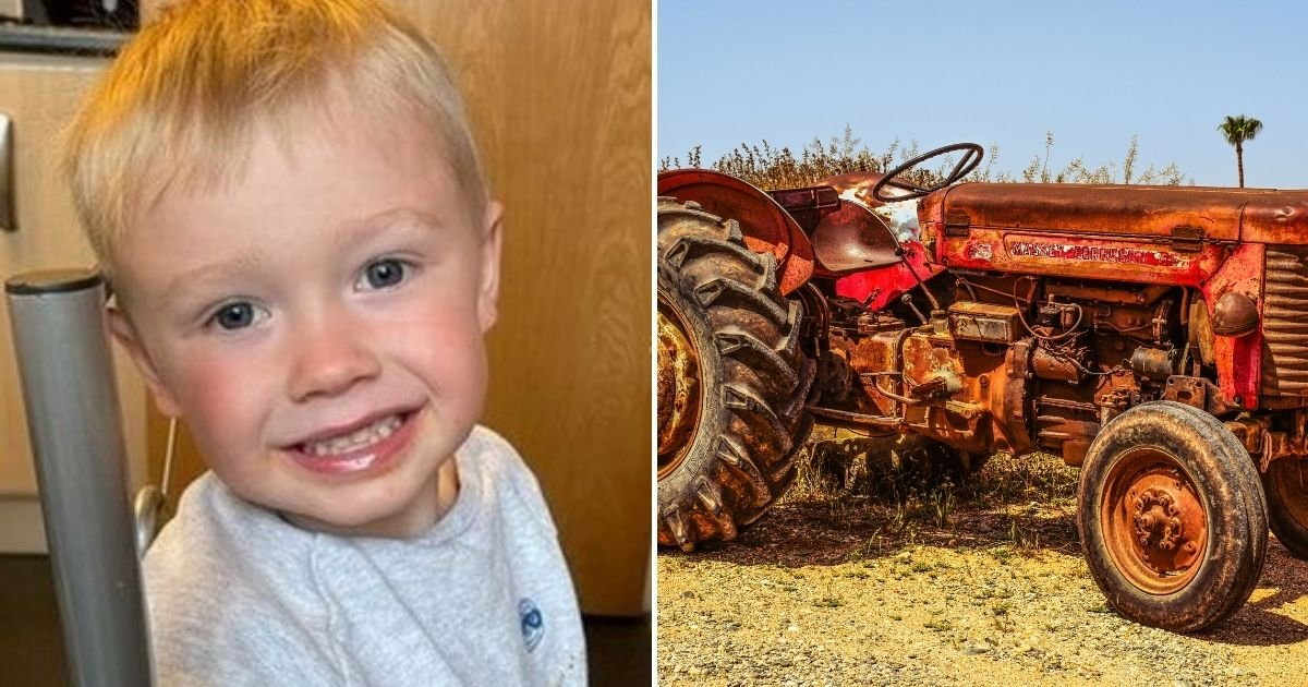 ian4.jpg?resize=412,275 - 3-Year-Old Boy Tragically Died After Being Run Over By A Tractor While Playing Outside His Home