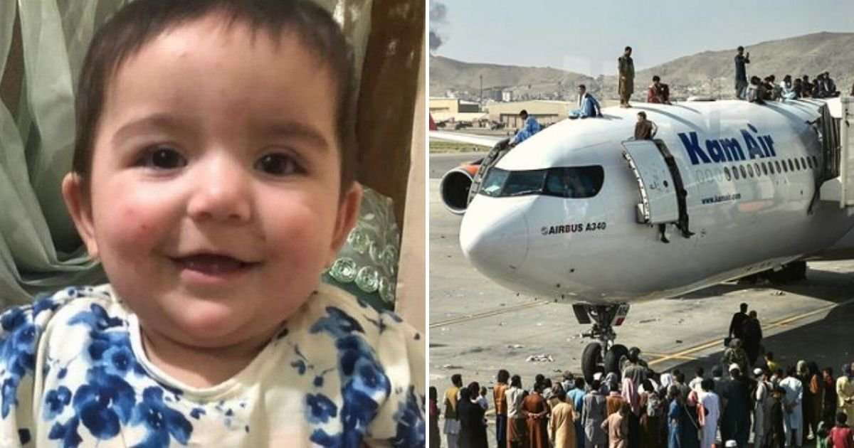 kabul3.jpg?resize=1200,630 - Parents Fear Their 7-Month-Old Baby Still Stranded In Kabul Airport Will Never Make It Home