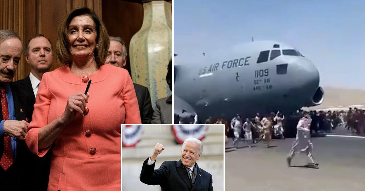 """q1 69.jpg?resize=1200,630 - """"It's Remarkable, Even Though It Got Off To A Hazy Start""""- Pelosi Is All Praise For Biden's Historic Afghanistan Withdrawal"""