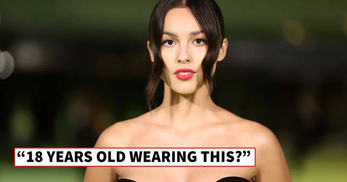 q5 4.jpg?resize=1200,630 - Olivia Rodrigo Turns Heads At Oscars Museum Party In 'Daringly Revealing' Risque Black Dress