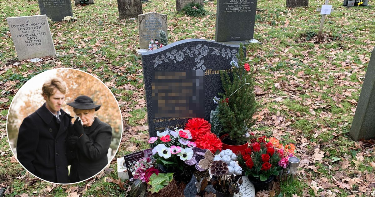 q8 6.jpg?resize=1200,630 - Dad's Family Left Fuming As Son REFUSES To Change INSULTING Gravestone Message Chosen By His Mom