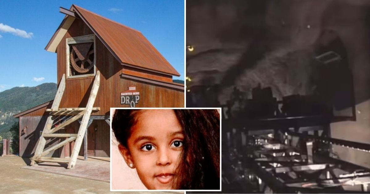 ride4.jpg?resize=412,232 - 6-Year-Old Girl Tragically Died After Falling 110ft While Riding A Haunted Mine Drop Ride Which Was Designed Without Shoulder Restraints