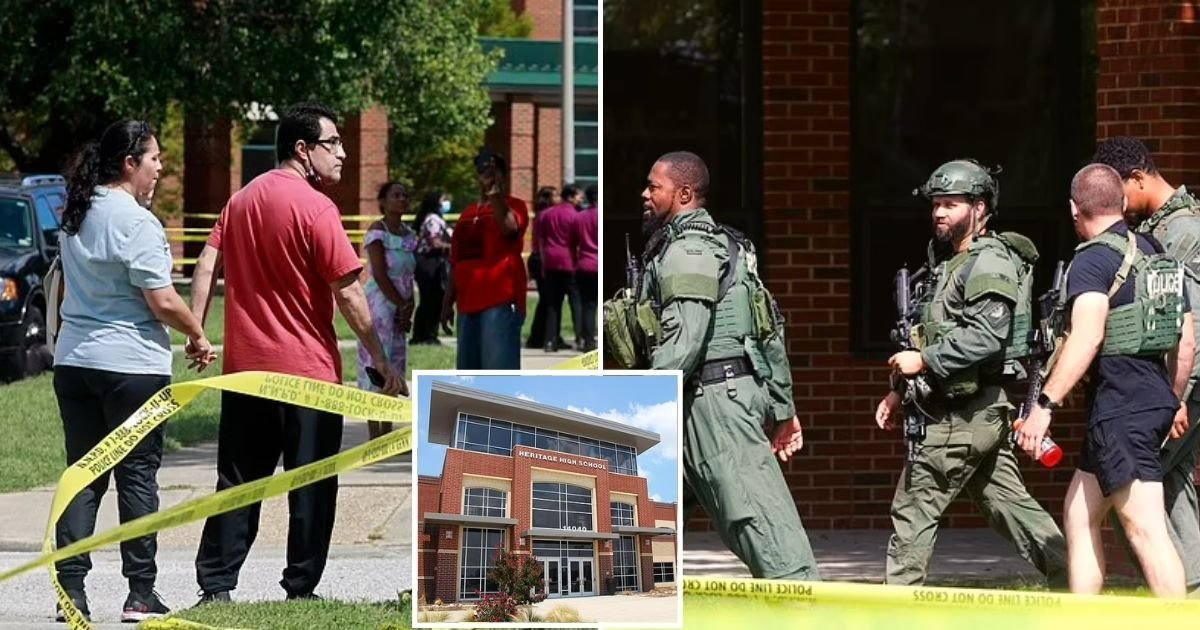 school6.jpg?resize=1200,630 - Boy Taken Into Custody After Two 17-Year-Old Students Were Shot At A High School In Newport News, Virginia