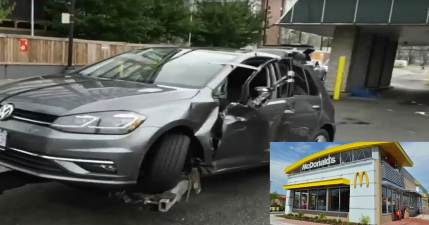 screenshot 2021 09 14 160827.png?resize=1200,630 - Totally Crushed Between A Building And His Own Car! Man Found Dead In McDonald's Drive-thru